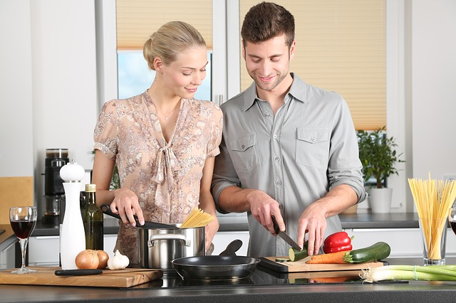 vaření s mužem