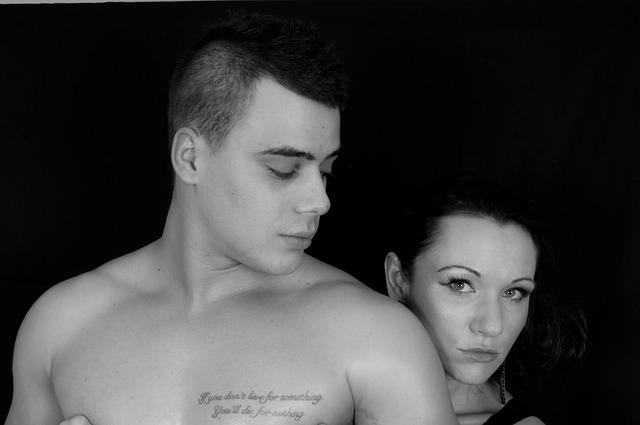 tetování na prsu