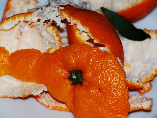pomerančová slupka