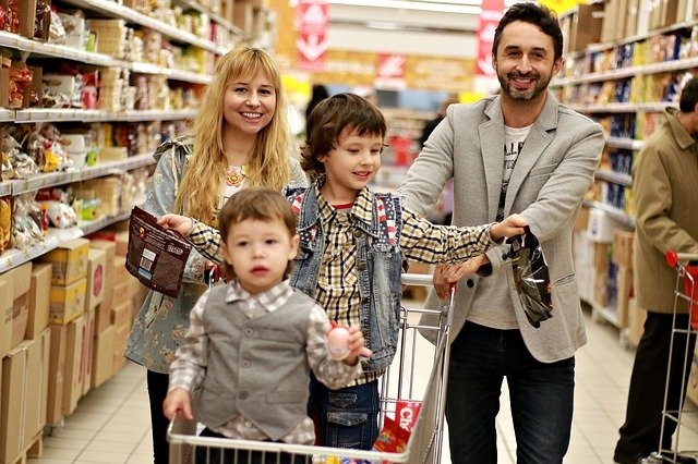 rodinné nákupy