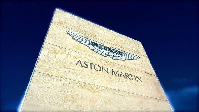 značka aston martin