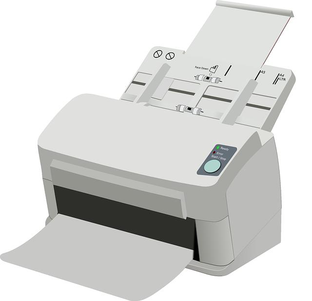 typická domácí tiskárna